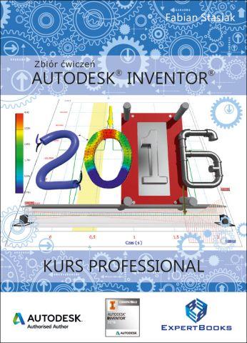 Autodesk Inventor 2016 ksiazka kurs Professional 010 frontcover