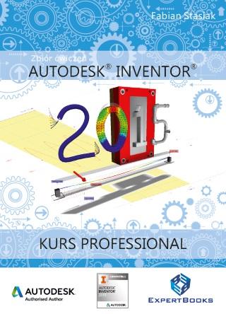 Autodesk Inventor 2015 ksiazka kurs Professional 007 frontcover