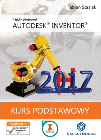 Autodesk Inventor 2017 ksiazka kurs podstawowy 011 frontcover